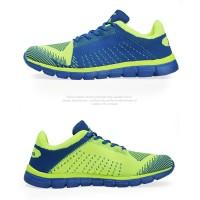 Sepatu Running/Olahraga/Lari KETA 183 Blue/Green Size 39 40 41 42 4