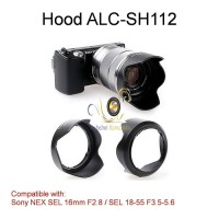Hood SH-112 For Sony NEX SEL 16mm F2.8 / SEL 18-55 F3.5-5.6
