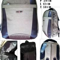 Tas Ransel Laptop Import Polo free tempat laptop dan raincoat