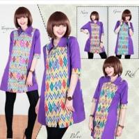 Batik Casual Mini Dress