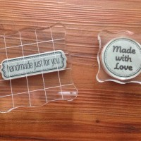 Acrylic pad for rubber stamp (5 cm x 5 cm)