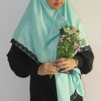 Jilbab Kamila Hijau Tosca Muda JB49