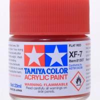 tamiya acrylic XF-7 Flat Red 23ml Cat Model kit Damage