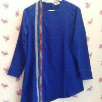 Jasmine Tunik tenun Biru