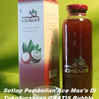 Ace max / Ace maxs / Ace Max's 100% Ori Ekstra kulit manggis