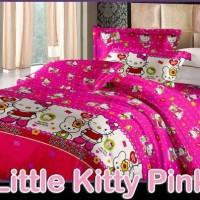 sprei motif hello kitty pink /spray hello kitty pink ukuran 180x200