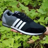 Sepatu Adidas Neo V Racer Grey Abu Murah Running