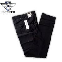 Celana Kerja Pria/Bahan/Formal/Panjang/Hitam/Slimfit/Standar HR Bravo
