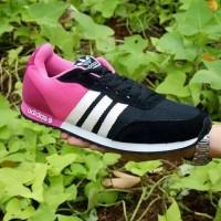 Sepatu Adidas Neo V Racer Pink Joging Running