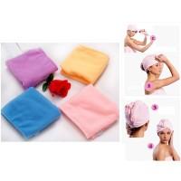 handuk pengering rambut/ hair wrap/ magic towel/ head towel/ pengering