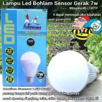 Lampu Led Bohlam Sensor Gerak 7W Mitsuyama MS-L1307TP