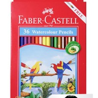 FABER CASTELL WATERCOLOUR PENCILS / PENSIL WARNA CAT AIR ISI 36