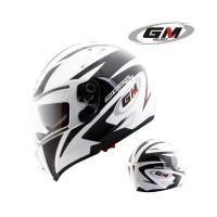 Helm GM AirBorne One Full Face Fullface Visor Airbone 1 White