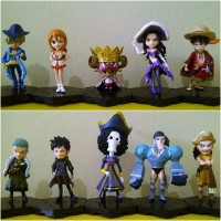 Action Figure One Piece Set Chibi - Code : OPSHP