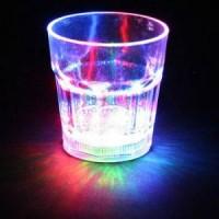 Gelas Nyala Lampu LED Unik Lamp Night Party Pesta Ulang Tahun Diskoter