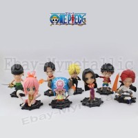 One Piece Straw Hat Pirates Action Figure Mini Set