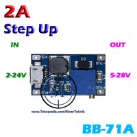 Kit Step Up Micro USB Adjustable 2A DC Booster Power Supply BB-71A