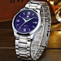 WWOOR 8809 Anti Air Rantai Stainless Steel - Original Watches - Blue