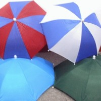 Payung kepala unik /Umbrella funny