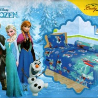 Bedcover Lady Rose Disperse 120 - Frozen