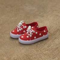 Sepatu Anak Decks Alish Polkadot Merah