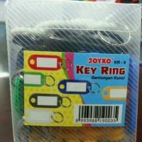 Gantungan kunci label nama warna KEY RING JOYKO