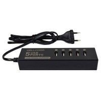 Wellcomm 5 Ports USB Charger 7 A