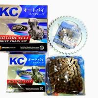 CHAIN KIT / GEAR SET / GEAR PAKET KC CRF 150