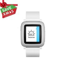 Smart Watch | Pebble Time Smartwatch - White