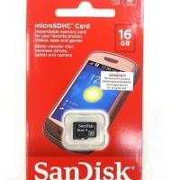 MICRO SD CARD SANDISK 16 GB