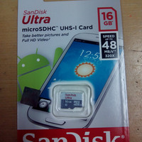 MICRO SANDISK ULTRA 16 GB CLASS 10 48 MB/S Non Adapter