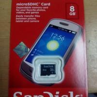 MICRO SD CARD SANDISK 8 GB