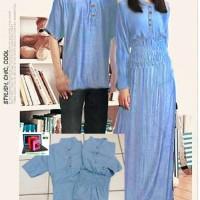Kemeja Dress Couple David Denim Trend Fashion
