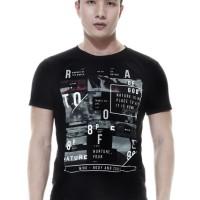 Raofe Wonder of The World Standard Men T-shirt Kaos Distro Pria Hitam