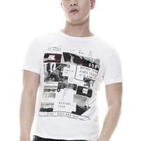 Raofe Wonder of The World Standard Men T-shirt Kaos Distro Pria Putih