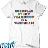 Kaos Coldplay -  CLD5 WH