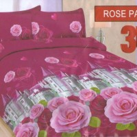 Sprei BONITA Rose Palace ukuran 180 x 200