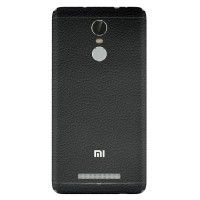 9Skin - Premium Skin Protector Xiaomi Redmi Note 3 - 3M Black Leather
