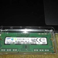 RAM MEMORY LAPTOP SAMSUNG SODIMM DDR3 2GB PC-12800