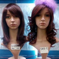 Wig / Rambut Palsu panjang sebahu 60 Cm