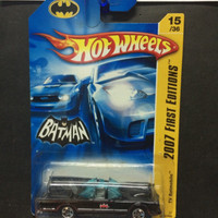 hotwheels batman tv batmobile 2007 first editions