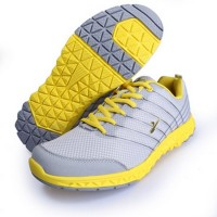 Sepatu  / Lari / Olahraga Original KETA 172 GREY YELLOW