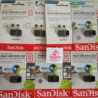 FLASHDISK SANDISK ULTRA 3.0 DUAL USB OTG 16GB