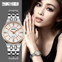 Jam Tangan Wanita + Box  Original 1133 Skmei Rose Gold""