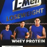 Susu LMen Coklat L-men Lose weight whey protein coklat Susu Lmen cokla