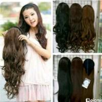Wig / Rambut Palsu Bando Panjang 60-65 Cm