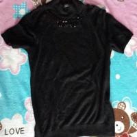 baju hitam style korea