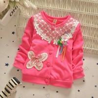 Baju Atasan Impor Bayi Korean Fuschia 007