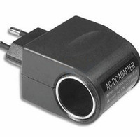 Converter colokan mobil EU Plug Car Charger Switch 12V 500mA