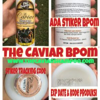 THE CAVIAR SHAMPOO ORIGINAL BPOM /NEW CAVIAR SHAMPO KUDA